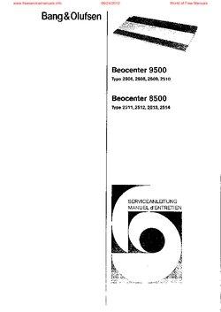 BEOCENTER8500