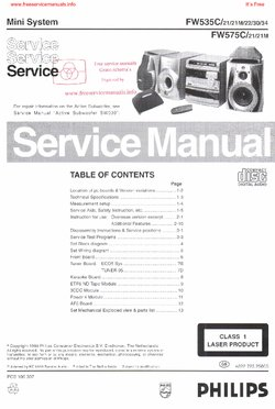 philips fw535c free service manual pdf download rh freeservicemanuals info philips service manuals download philips service manual pdf