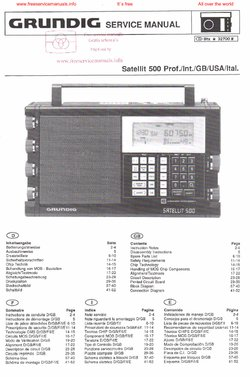 grundig satellit 2000 user manual