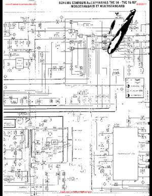 Philips 16CF5216 TVC14 Free service manual pdf Download