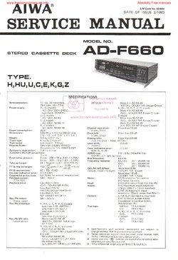 aiwa ad f990 ad f770 ad f660 free service manual pdf download rh freeservicemanuals info Chilton Manuals Yamaha Service Manuals PDF