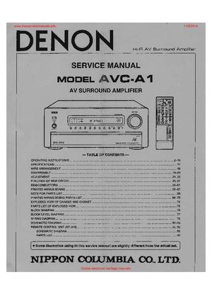 Denon poa4400a service manual by download #183559 for sale.