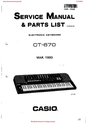 Casio ctk-481 service manual download, schematics, eeprom, repair.