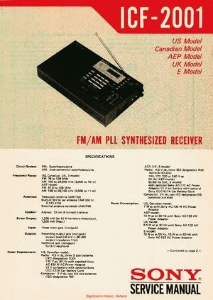 My new (to me) sony icf-2001 shortwave radio pipedot.