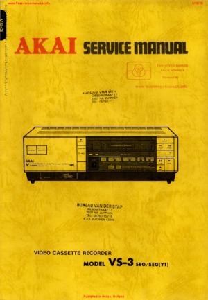 85+ Akai Vs - Akai VS K607N E3 VHS Videorecorder, G757 Video